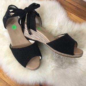 Ugg Espadrille Wedge Sandal Size 11